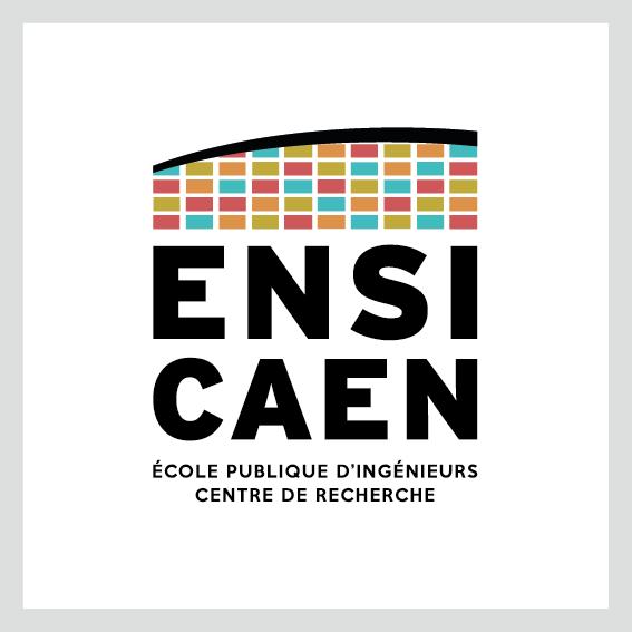 Logo de l'ENSICAEN