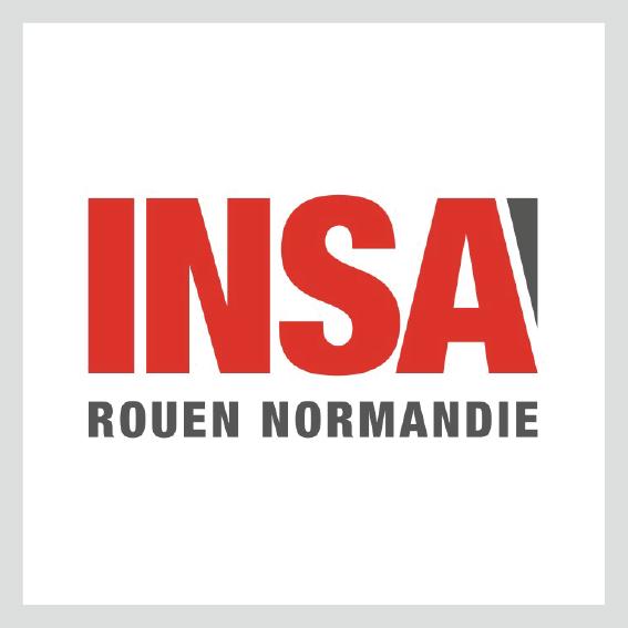 Logo de l'INSA Rouen Normandie